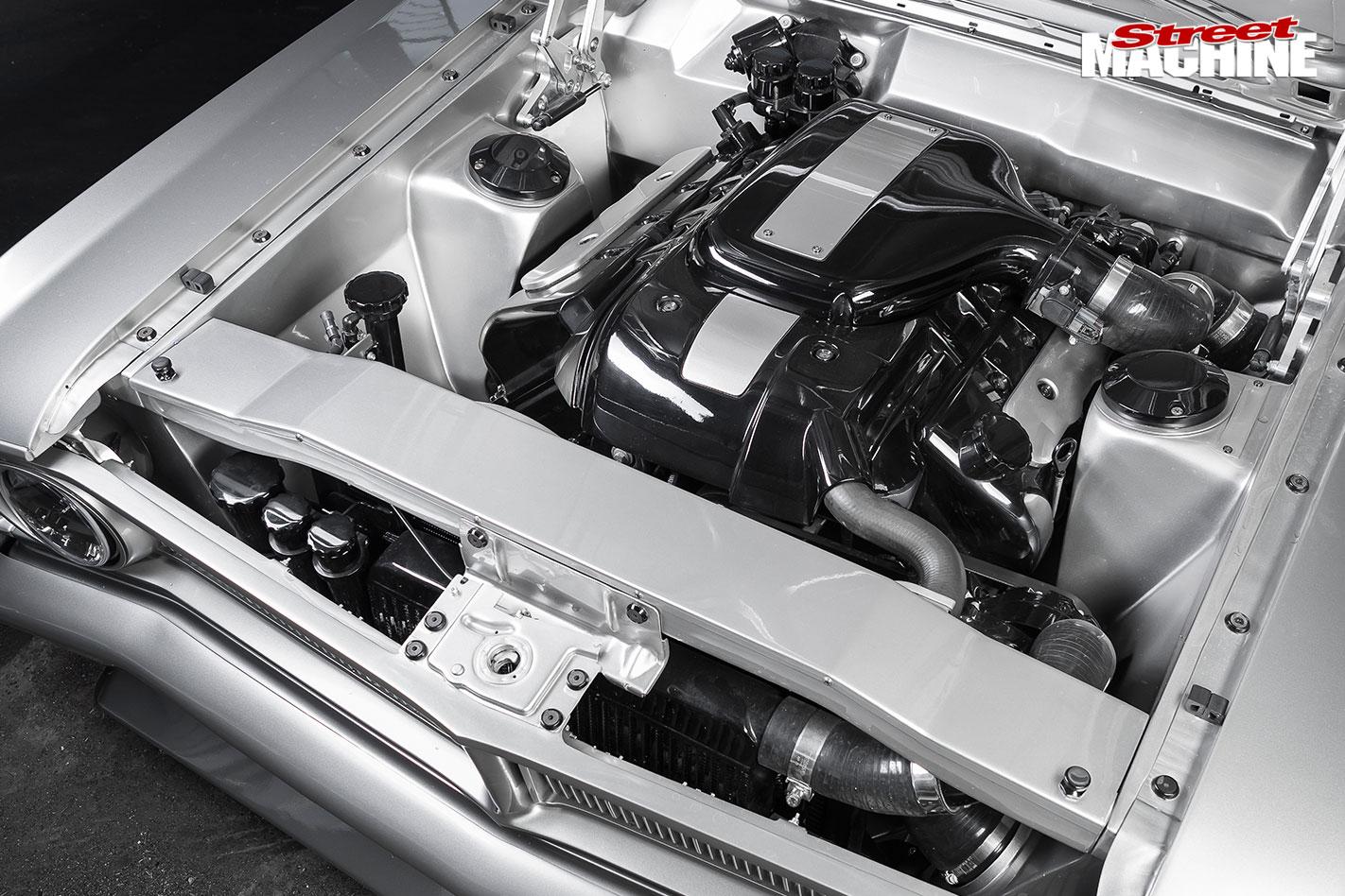 Ford XY Falcon engine bay