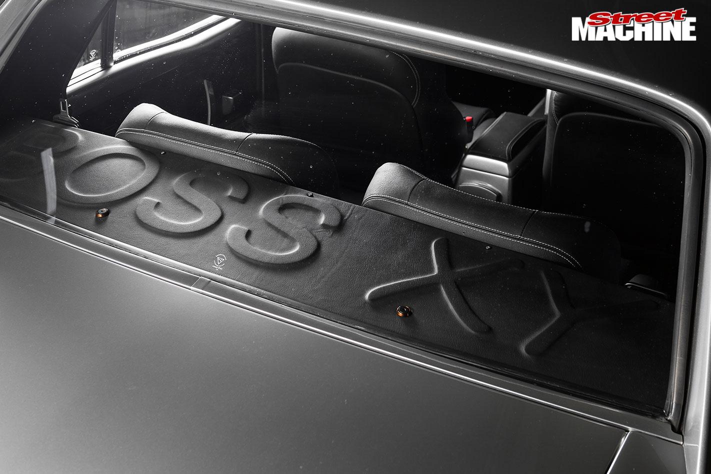 Elite Level Vortech Blown Boss V8 Powered Ford Xy Falcon Kia To Wiring Rear Parcel Shelf