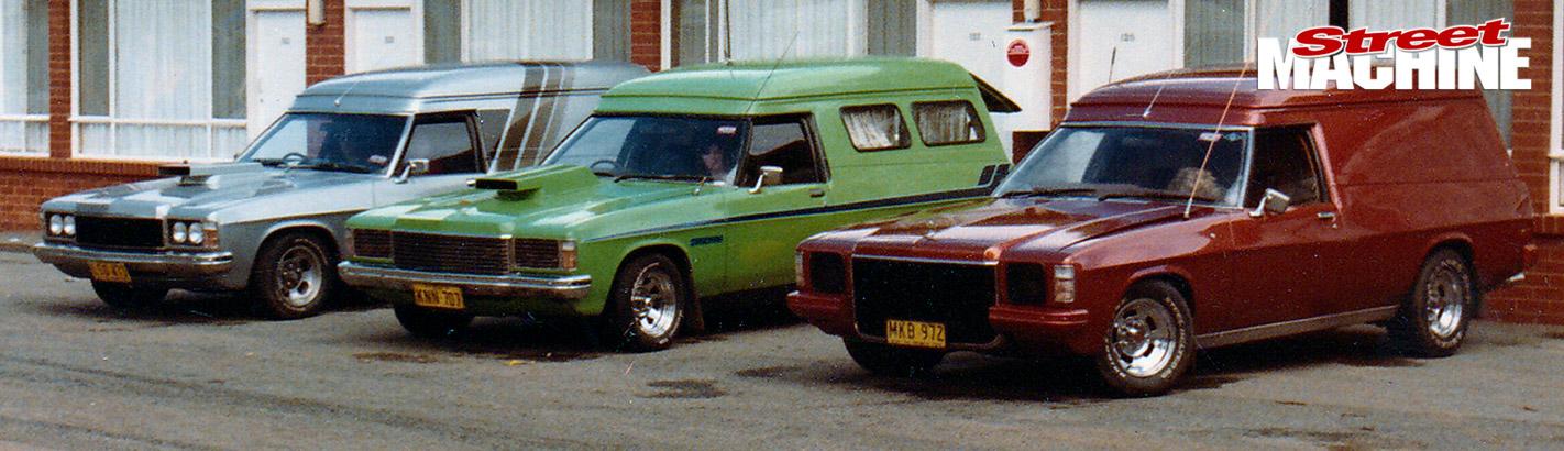 Holden panel vans