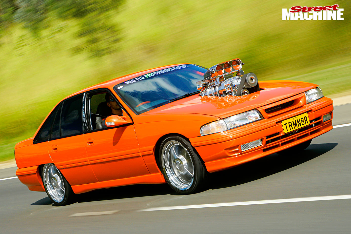 Blown 355-cube Holden VP Commodore - TRMN8R