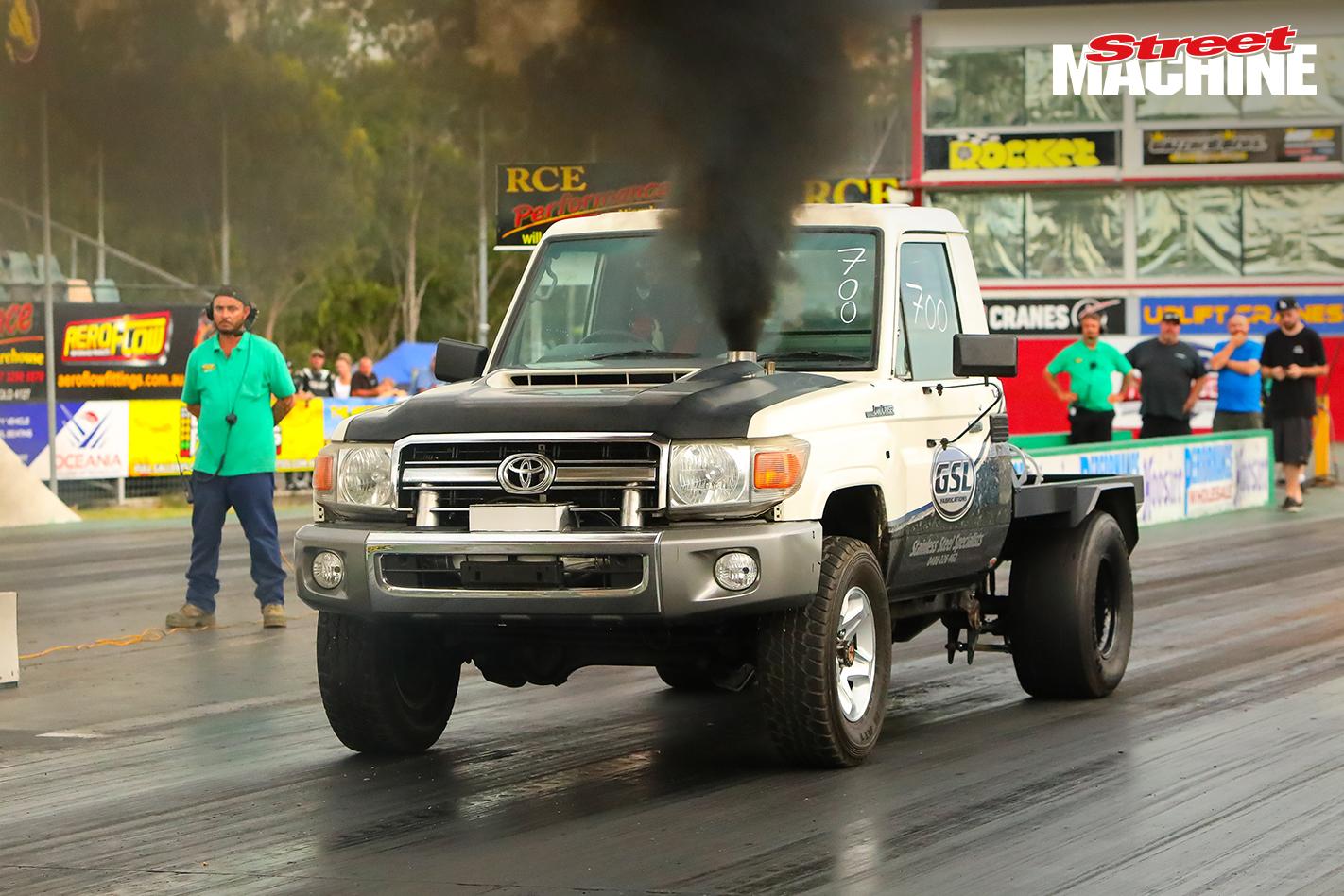 10 Second Turbo Diesel Toyota Landcruiser Video