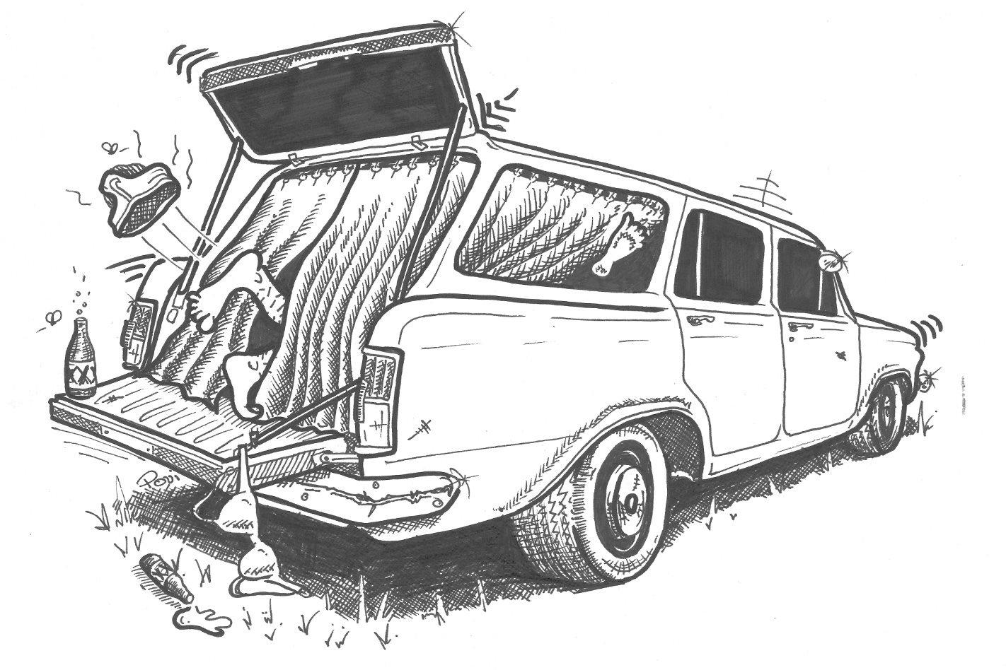 Sex in a panelvan