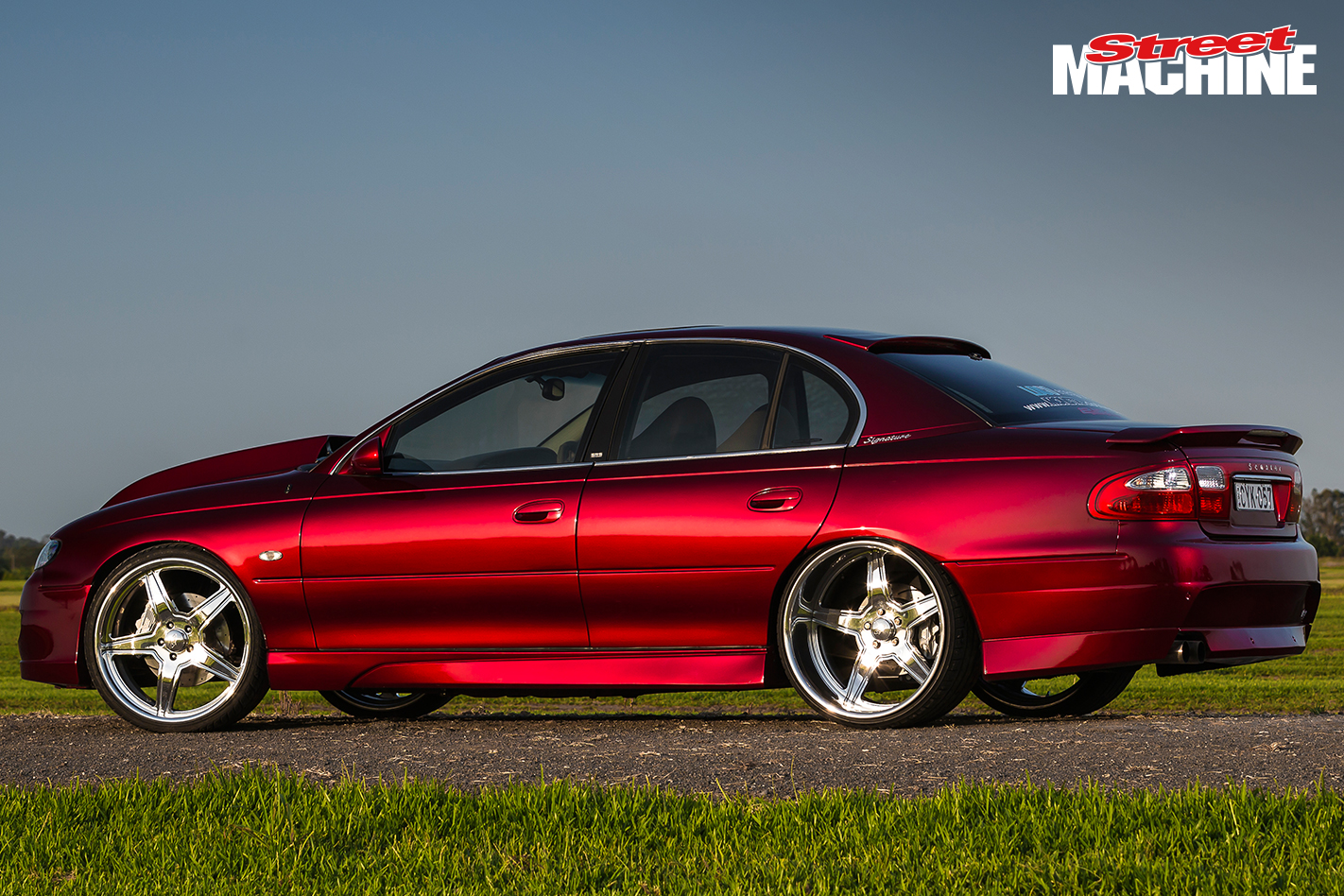 Tubbed, four-linked and blown VX HSV Senator