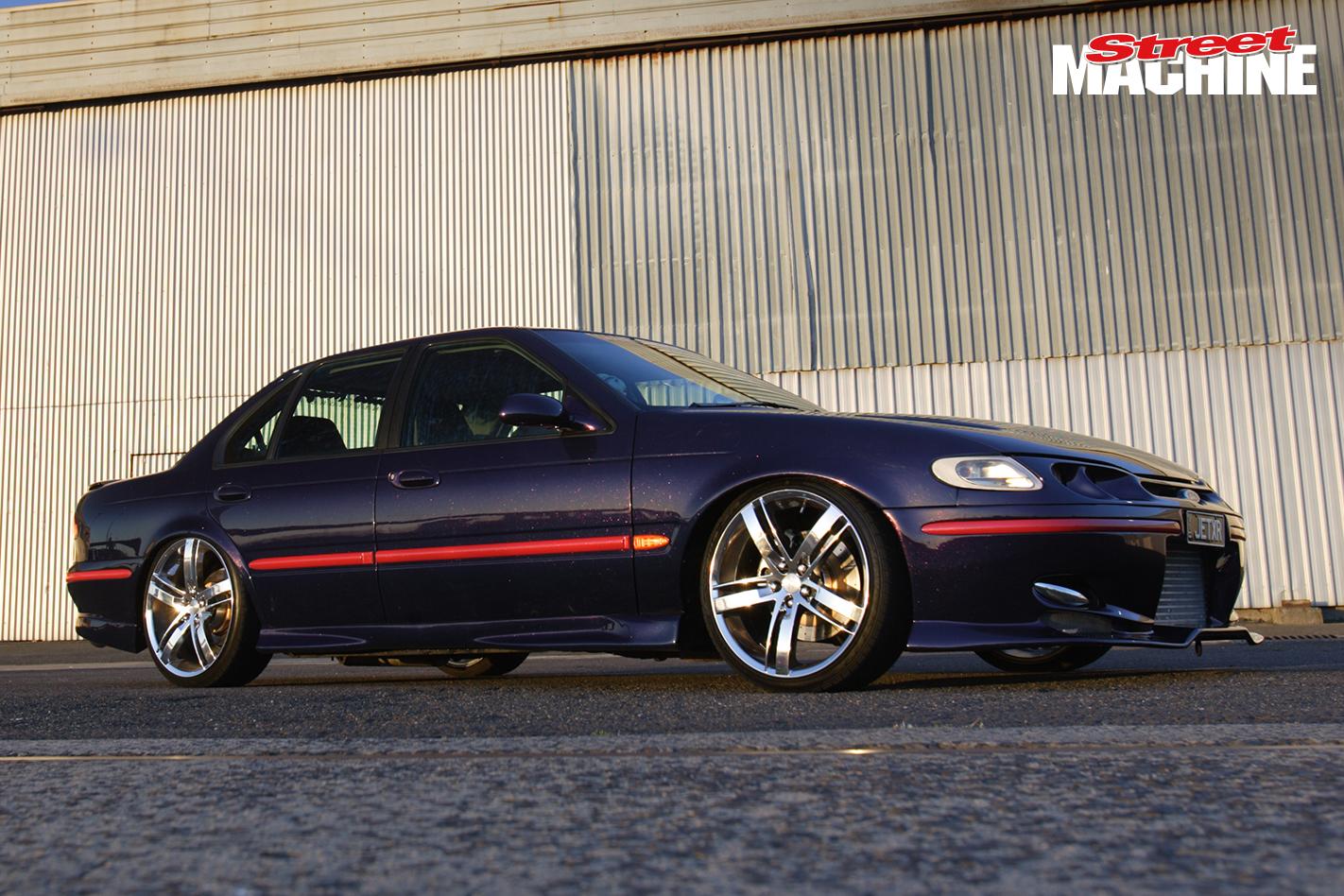 Barra turbo-powered Ford EL Falcon XR6