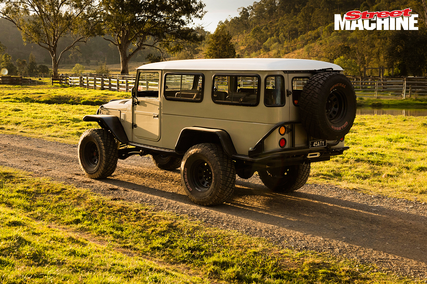 Turbo LS-powered Toyota FJ45 Landcruiser