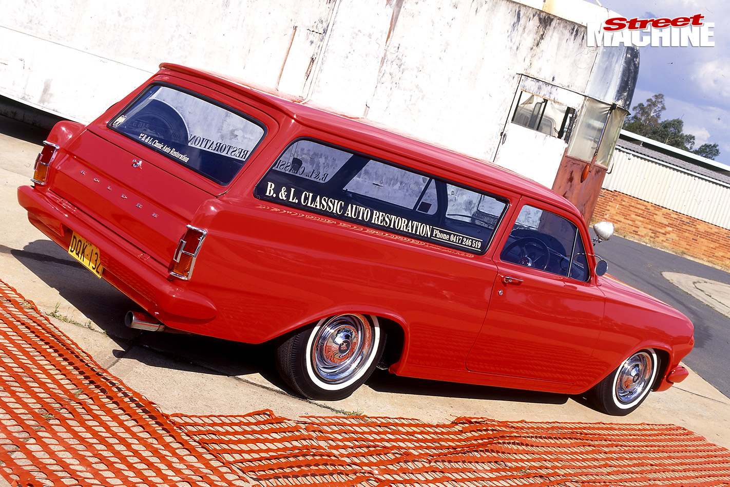 Holden eh delivery rear