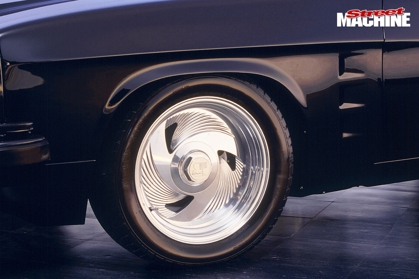 Holden HJ sedan wheel