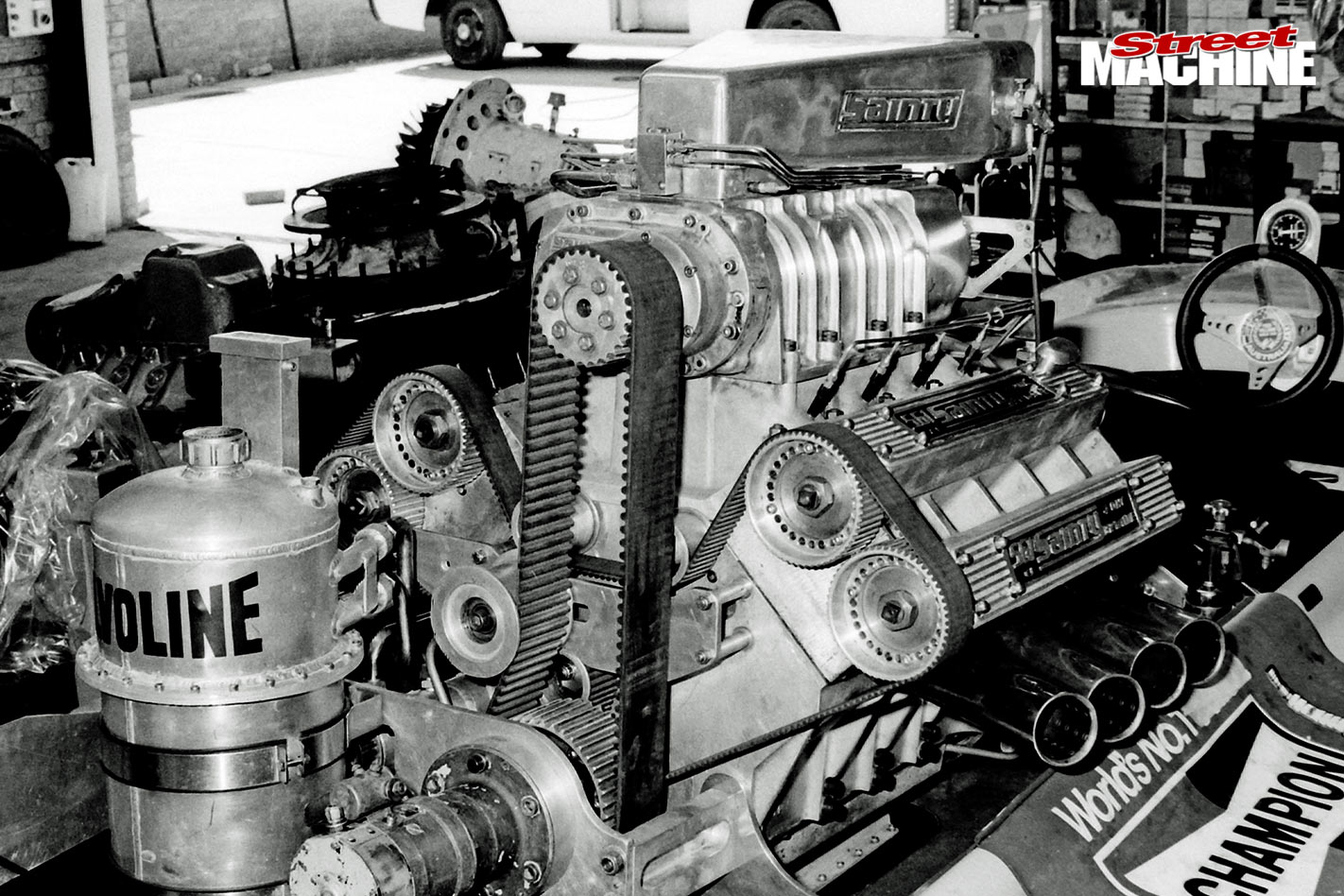 Stan sainty 561 cube engine