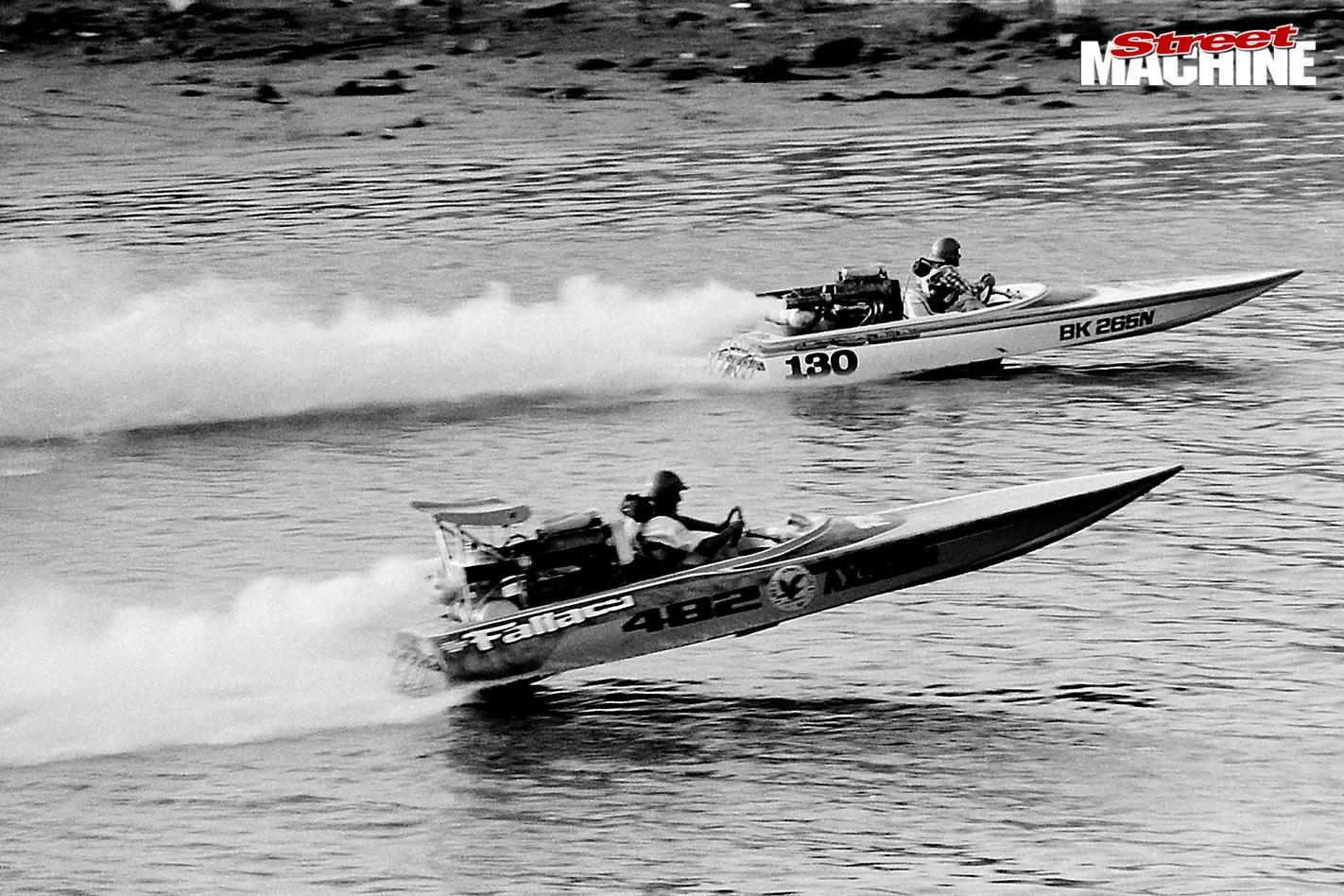 Stan Sainty speedboat