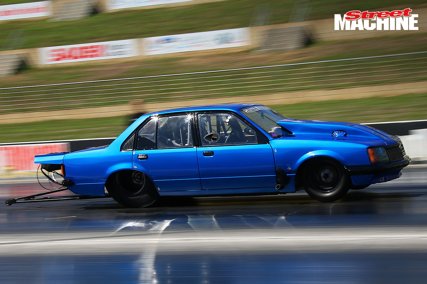 World's quickest Commodore – 4000hp VB into the fives!