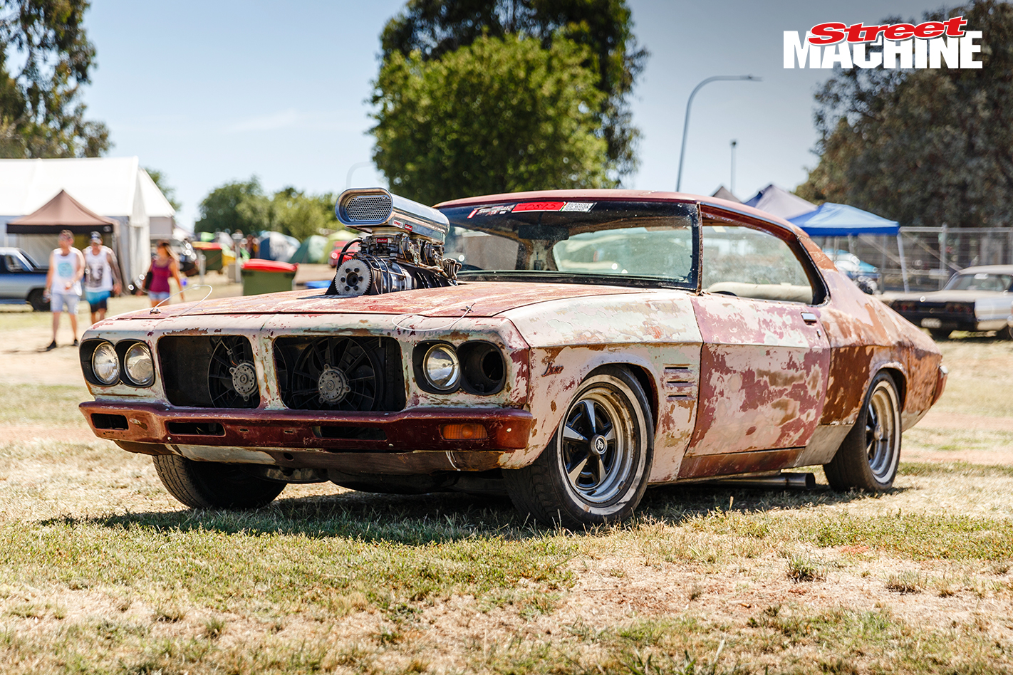Hq Old Machinery Parts : Rusty blown chev powered hq monaro