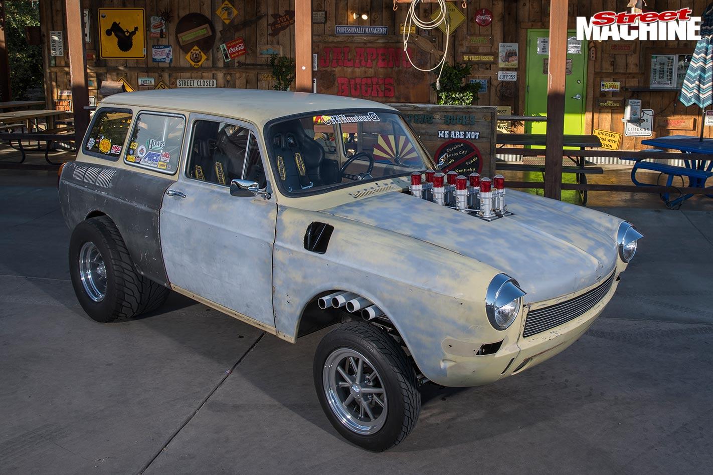 1971 Volkswagen Type 3 wagon gasser