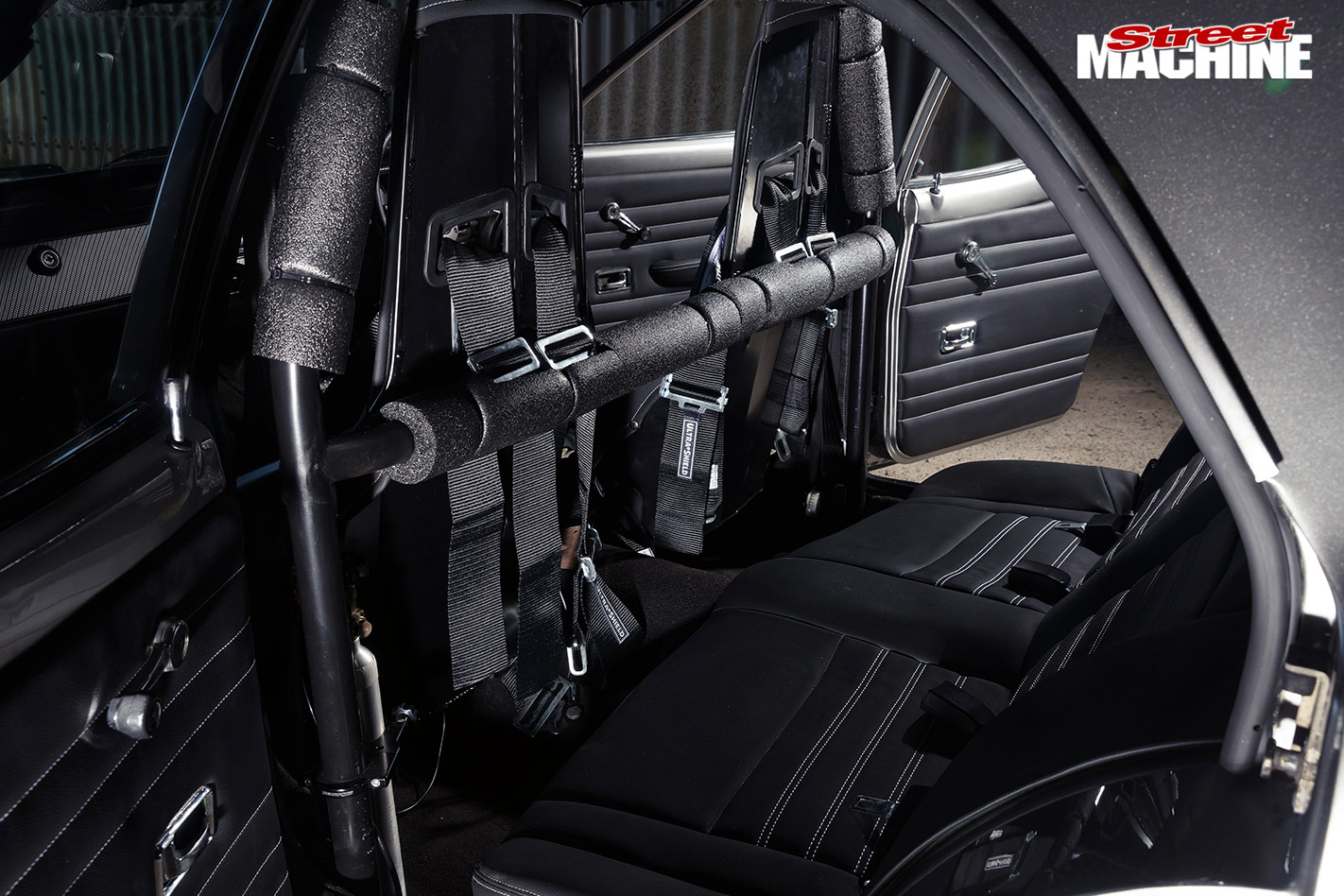 Ford Cortina interior rear