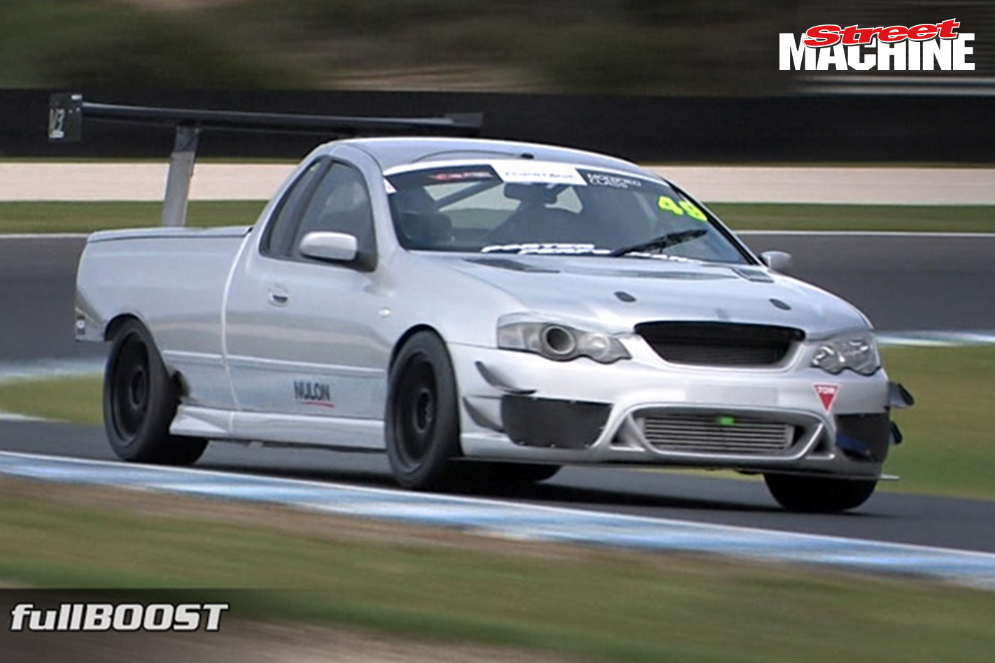 Ford XR6 Turbo Falcon ute time attack car – Video