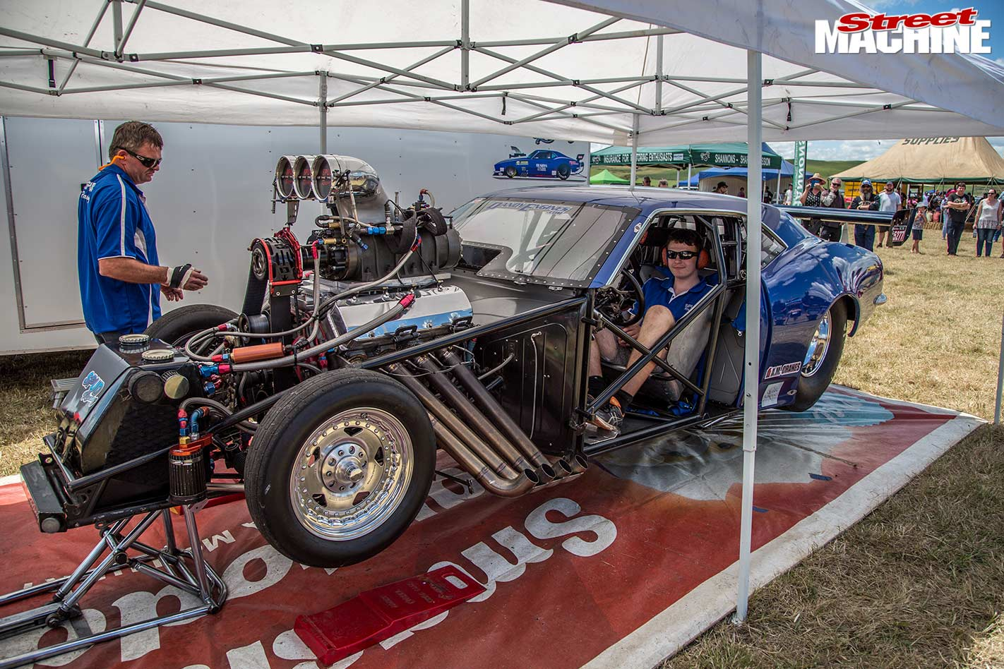 Justin Russell's outlaw car