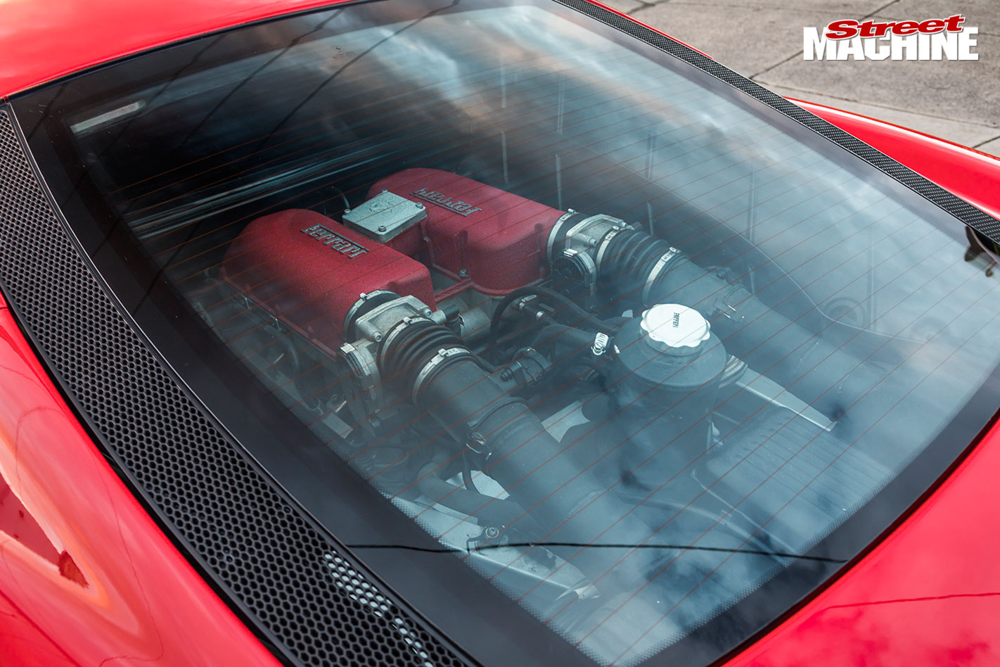 stretch ferrari engine