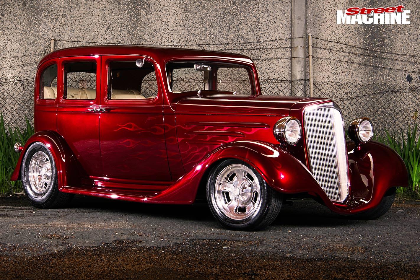 383-cube 1934 Chevrolet four-door sedan