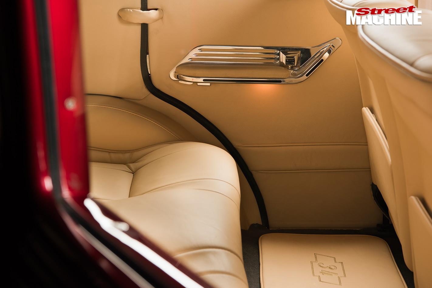 Chevy four-door sedan doortrim