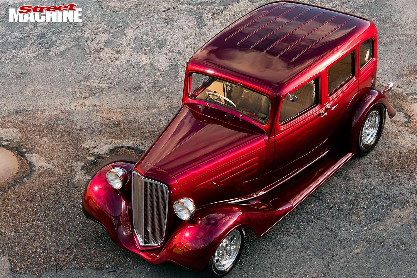 Chevrolet four-door sedan top