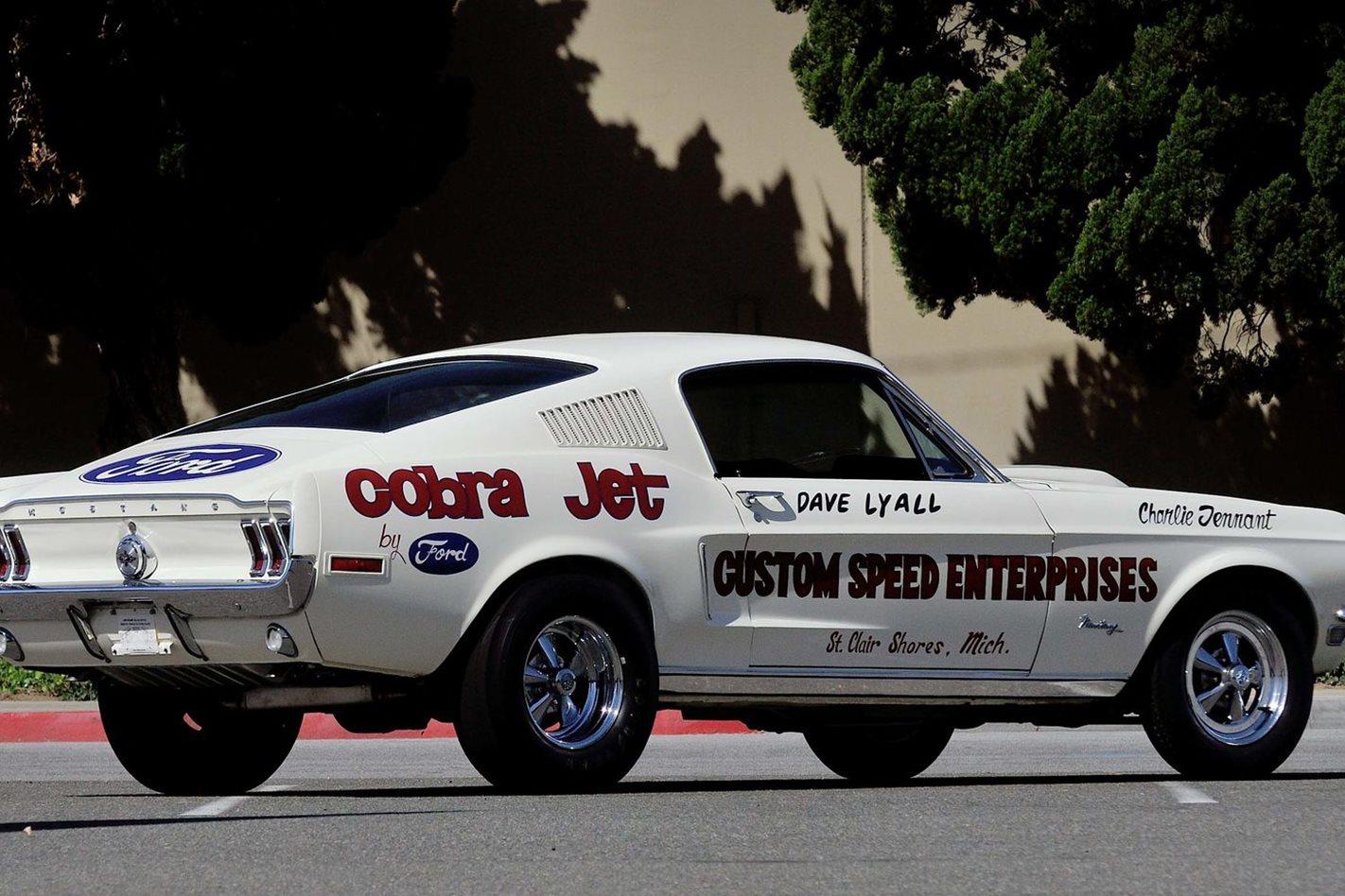 Mustang Cobra Jet >> Ford Prepares Eight Second Mustang Cobra Jet