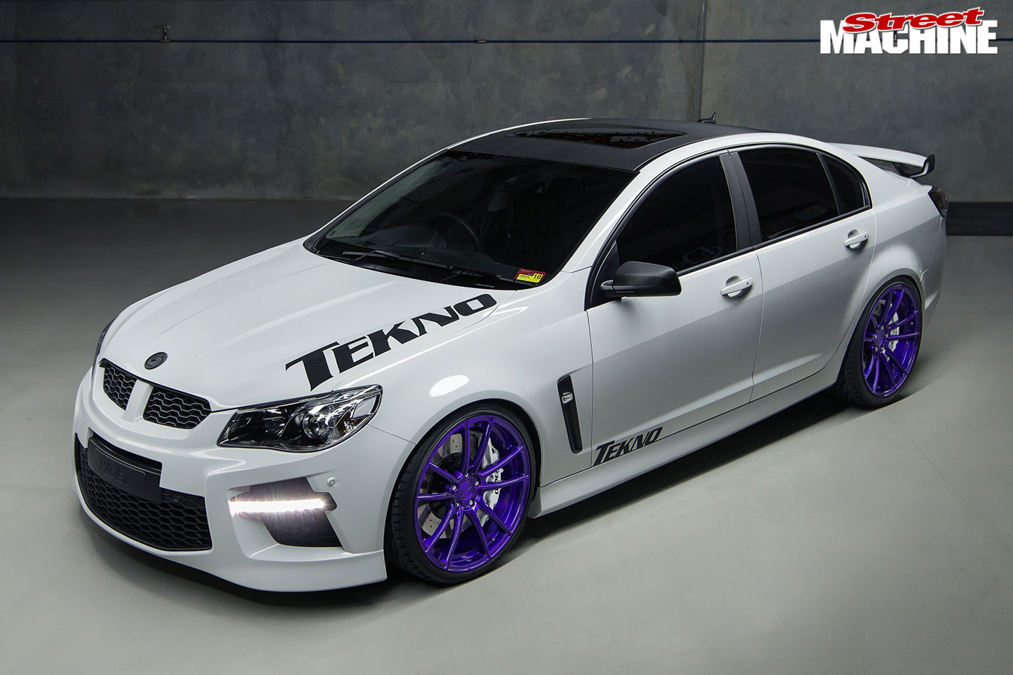 Tekno Performance's Blown 2013 HSV Clubsport R8 SV & blown