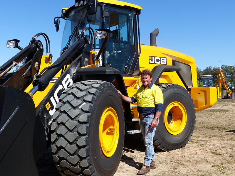 JCB 457HT wheel loader
