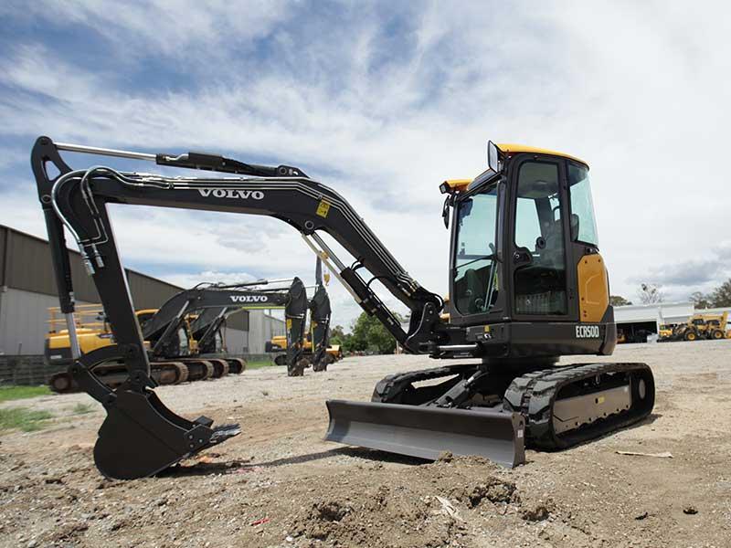 Volvo ECR50D mini excavator