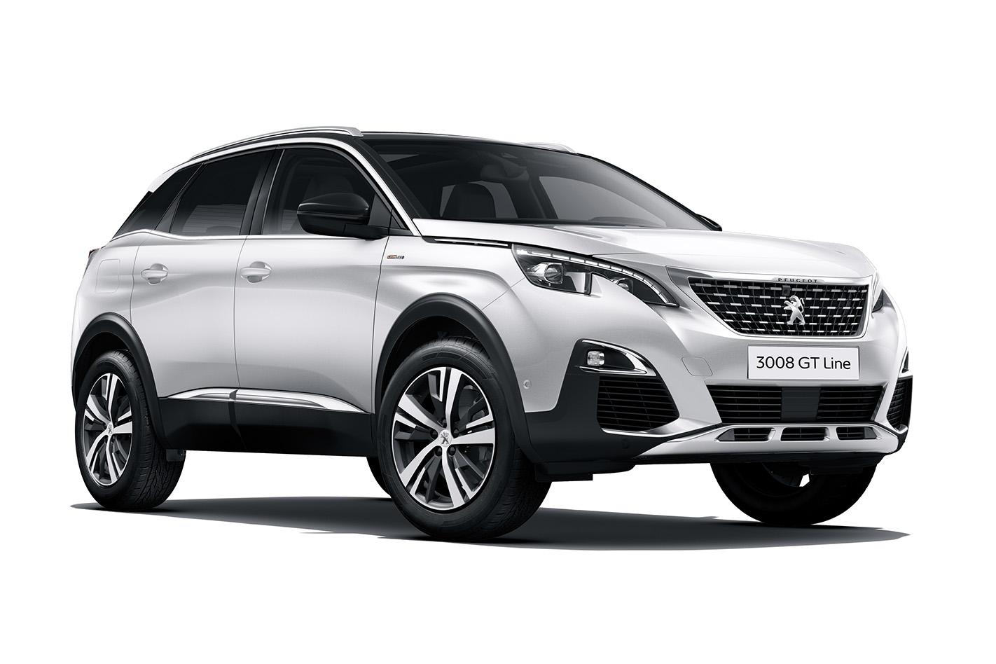 2019 Peugeot 3008 Gt Line 1 6l 4cyl Petrol Turbocharged Automatic Suv