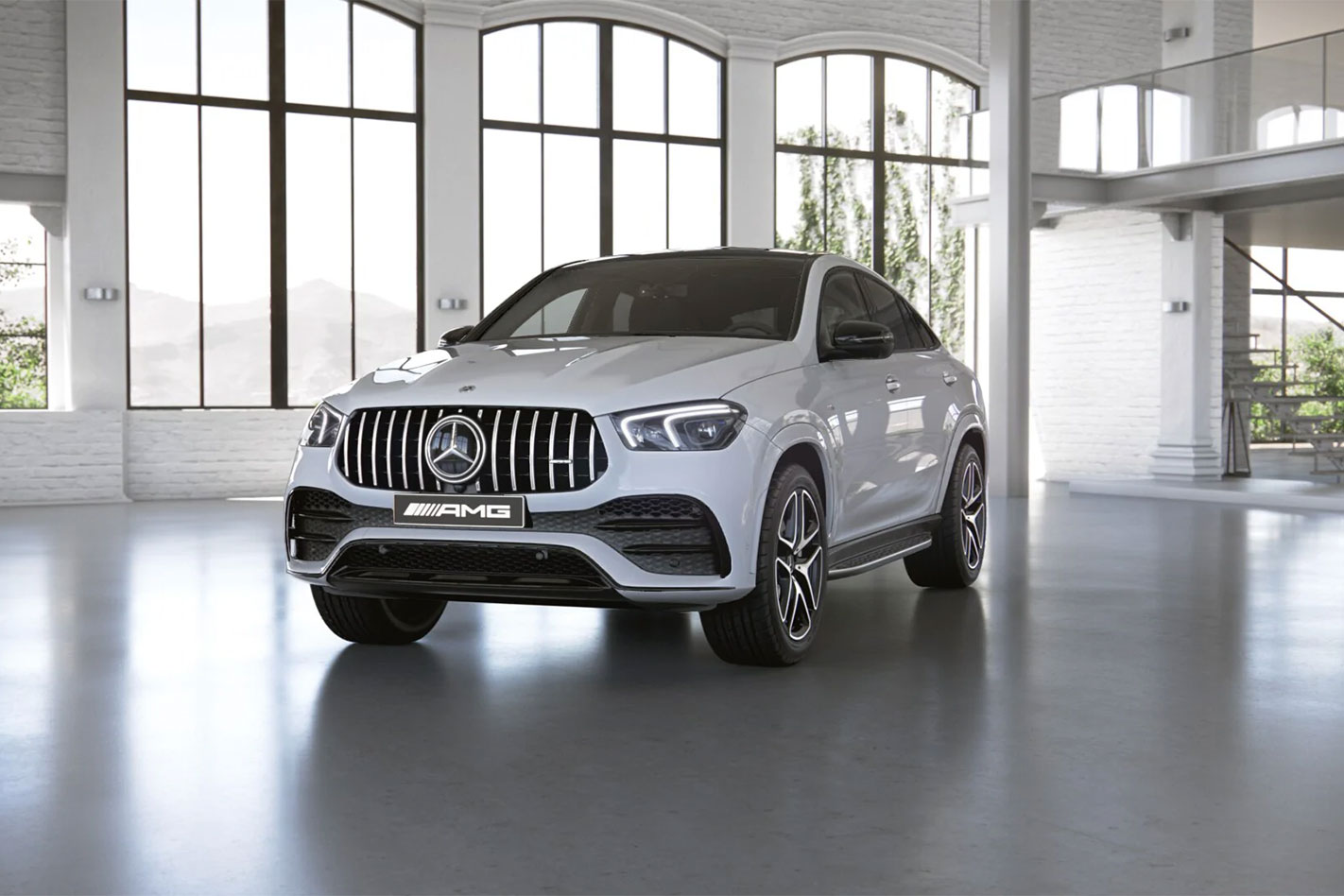 2020 Mercedes Benz Gle Coupe 3 0 Mercedes Amg Gle 53 4matic 3 0l 6cyl Hybrid Turbocharged Automatic Suv
