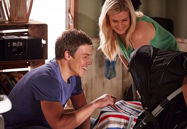 Home and away ricky baby episode - Catshit one movie part 1