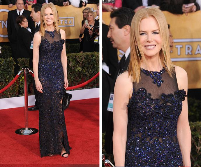 Nicole Kidman's embellished gown from Vivienne Westwood, was one of her best ever red carpet looks!