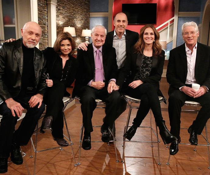 The *Pretty Woman* cast reunites after 25 years on the US *Today* show.