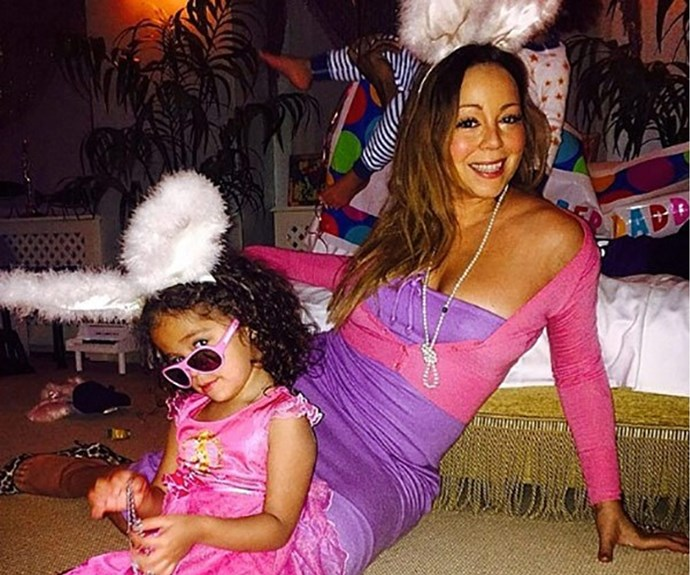 Mariah Carey gets in the spirit with young Moroccan.