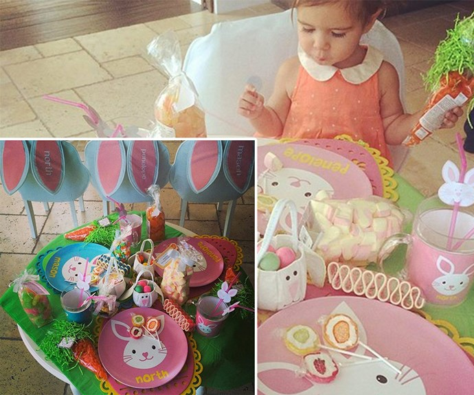 Last year Kris Jenner threw a pastel-themed Easter party and Penelope Disick adored it.