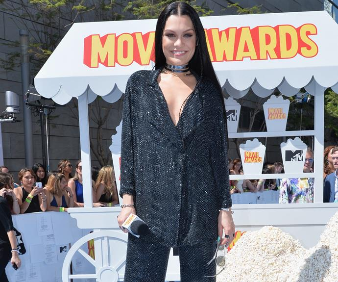 The newest judge on The Voice Australia Jessie J presented an award.