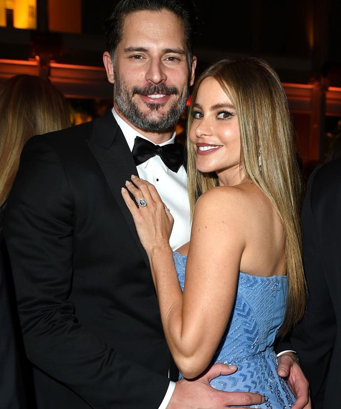 Sofia with her new man, Joe Managaniello