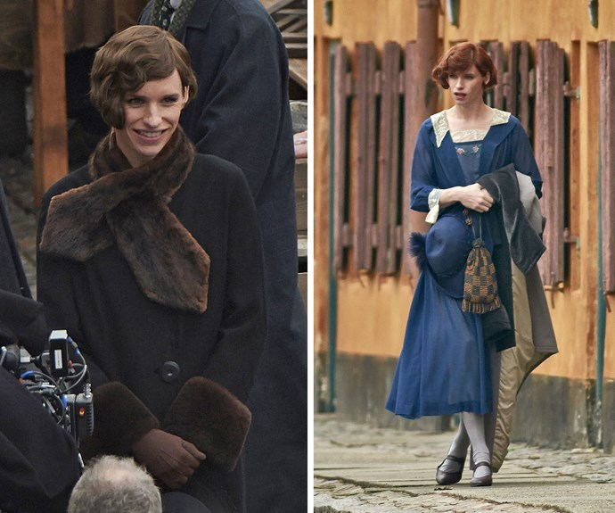 Eddie Redmayne adopted an entirely new look when he took on the part of Lili Elbe, the first-known person to have undergone gender reassignment surgery for *The Danish Girl*.