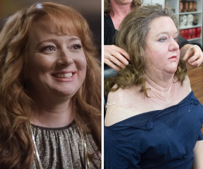 From Rhonda to Rinehart: Mandy McElhinney underwent a total transformation for her role as Gina Rinehart in TV mini-series *The House of Hancock*.