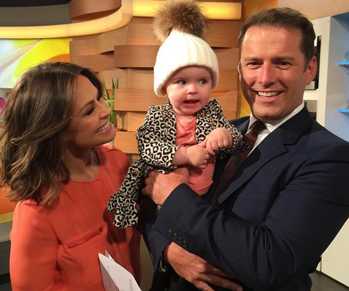 Is friends with Karl Stefanovic and Lisa Wilkinson.