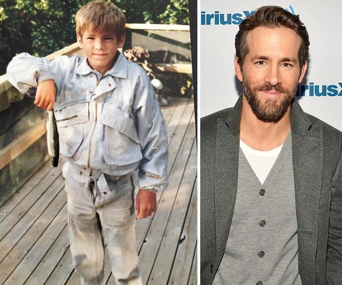 Aww! How cute was little Ryan Reynolds!