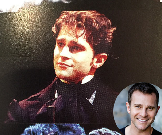 David Campbell during his musical theatre days.
