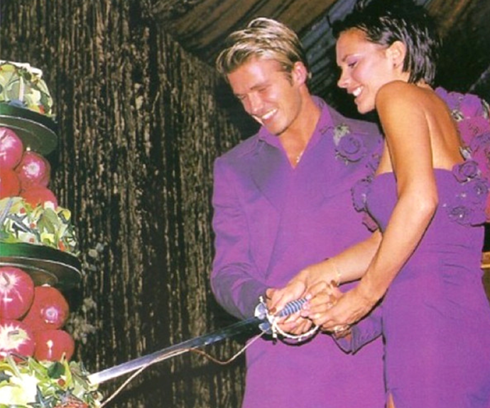 We adore this flashback to Victoria and David Beckham's wedding!