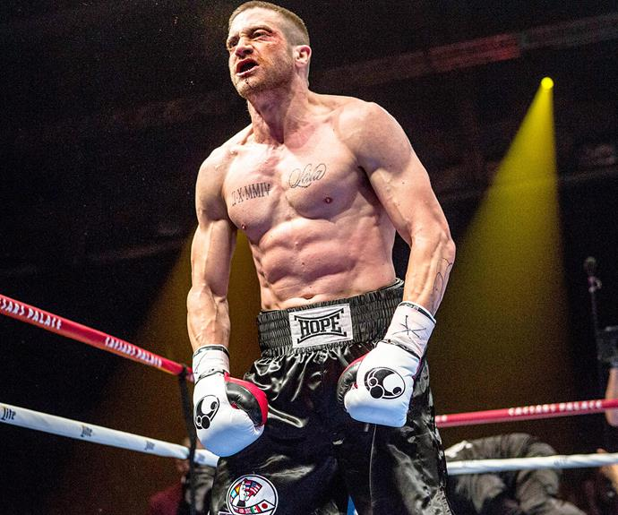 Hollywood's chameleon, Jake Gyllenhaal has once again transformed himself for his new film Southpaw.