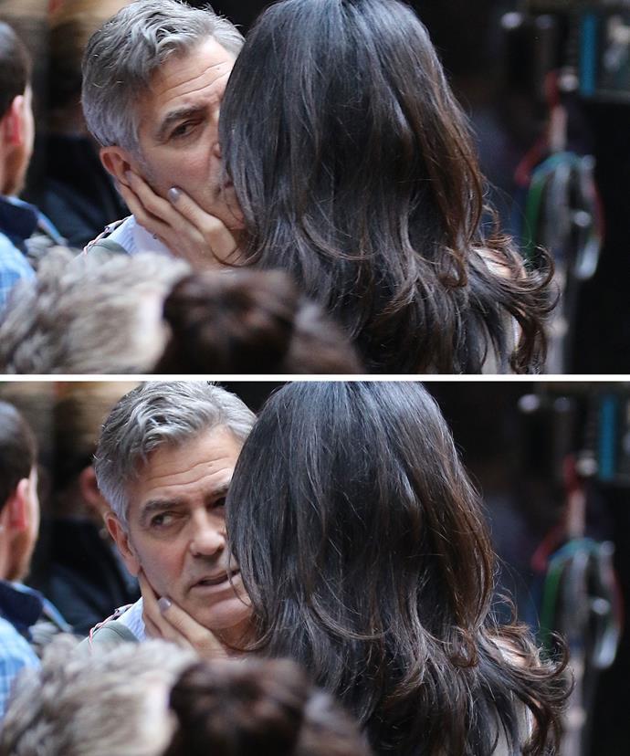 """""""Hey! Eyes on me, George!"""""""
