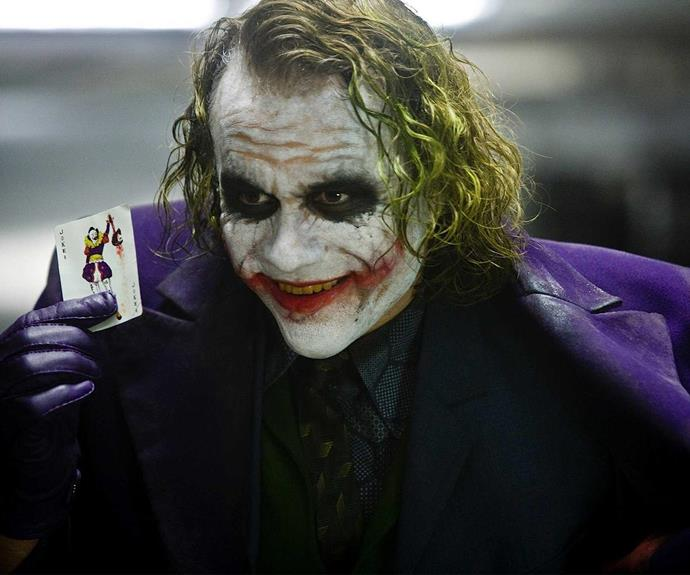 The late Heath Ledger is one of the most notable actors to portray Batman's nemesis and won a posthumous Oscar for his role.