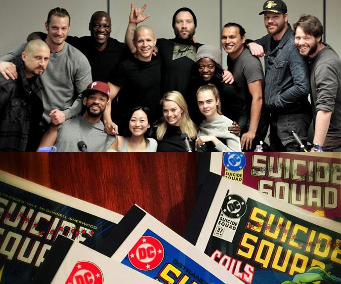 The Suicide Squad is expected to hit cinemas in August 2016. The stellar cast include Cara Delevingne, Margot Robbie and Will Smith.