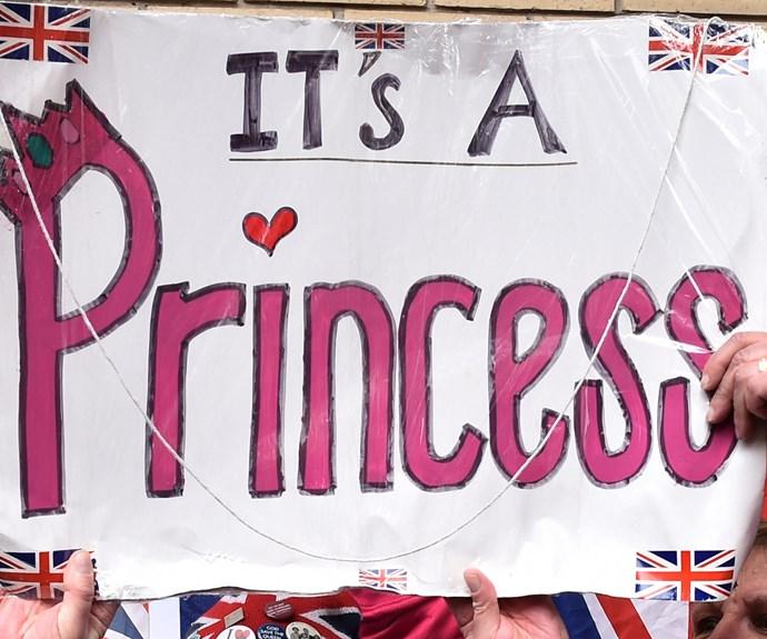Their is a royal Princess!