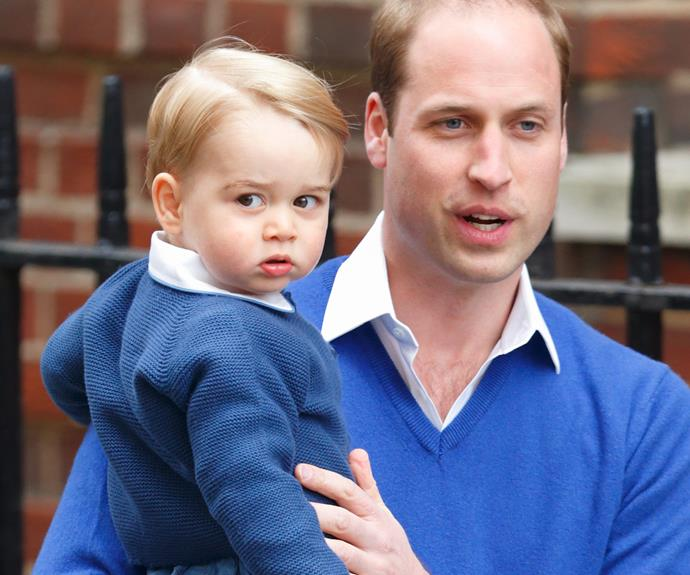 Prince George seemed slightly confused about what the fuss was about.