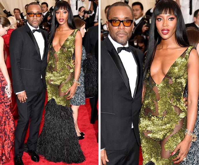 Naomi Campbell and  Lee Daniels