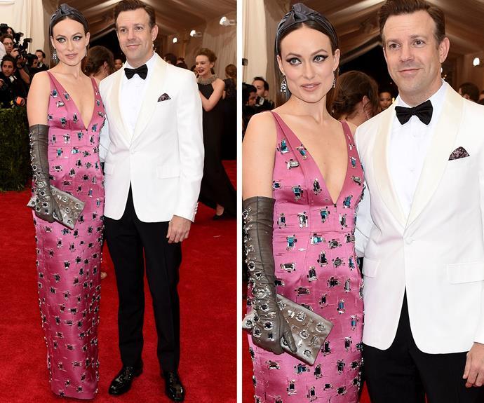 New parents Olivia Wilde and Jason Sudeikis